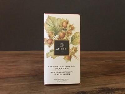 Amedei Milk Chocolatew/Hazelnuts