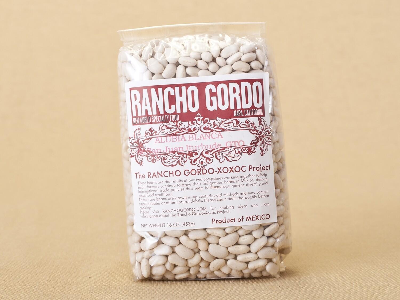 Rancho Gordo Alubia Beans 16oz