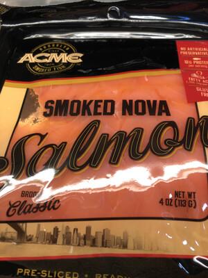 Acme Smoked Nova Salmon 4oz