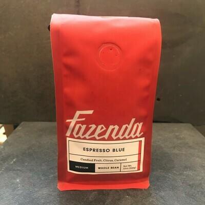 Fazenda Espresso Blue 12oz