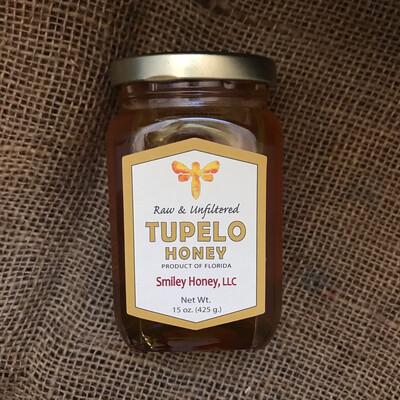 Smiley Tupelo Honey 15oz