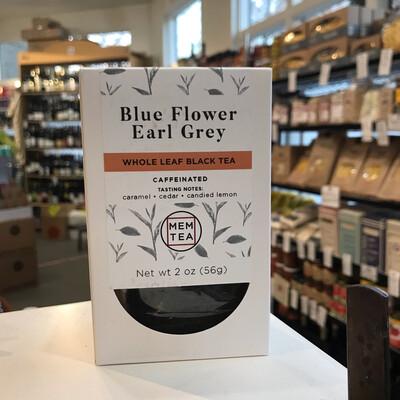 MEM Tea Earl Grey Blue Flower 2oz