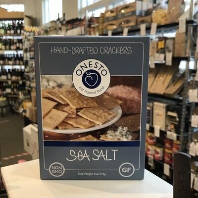 Onesto Sea Salt Crackers