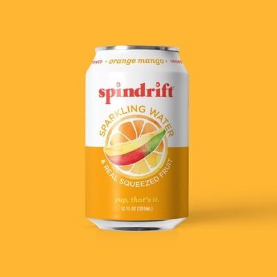 Spindrift Seltzer - Orange Mango