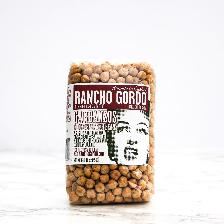 Rancho Gordo Garbanzo Beans 16oz