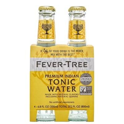 Fever Tree Tonic Water, 4 pk