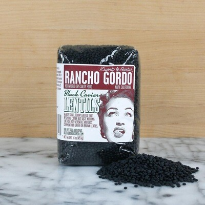 Rancho Gordo Caviar Lentils