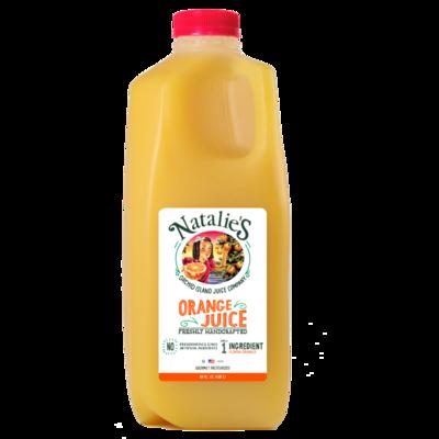 Natalie's Orange Juice 1/2 gal