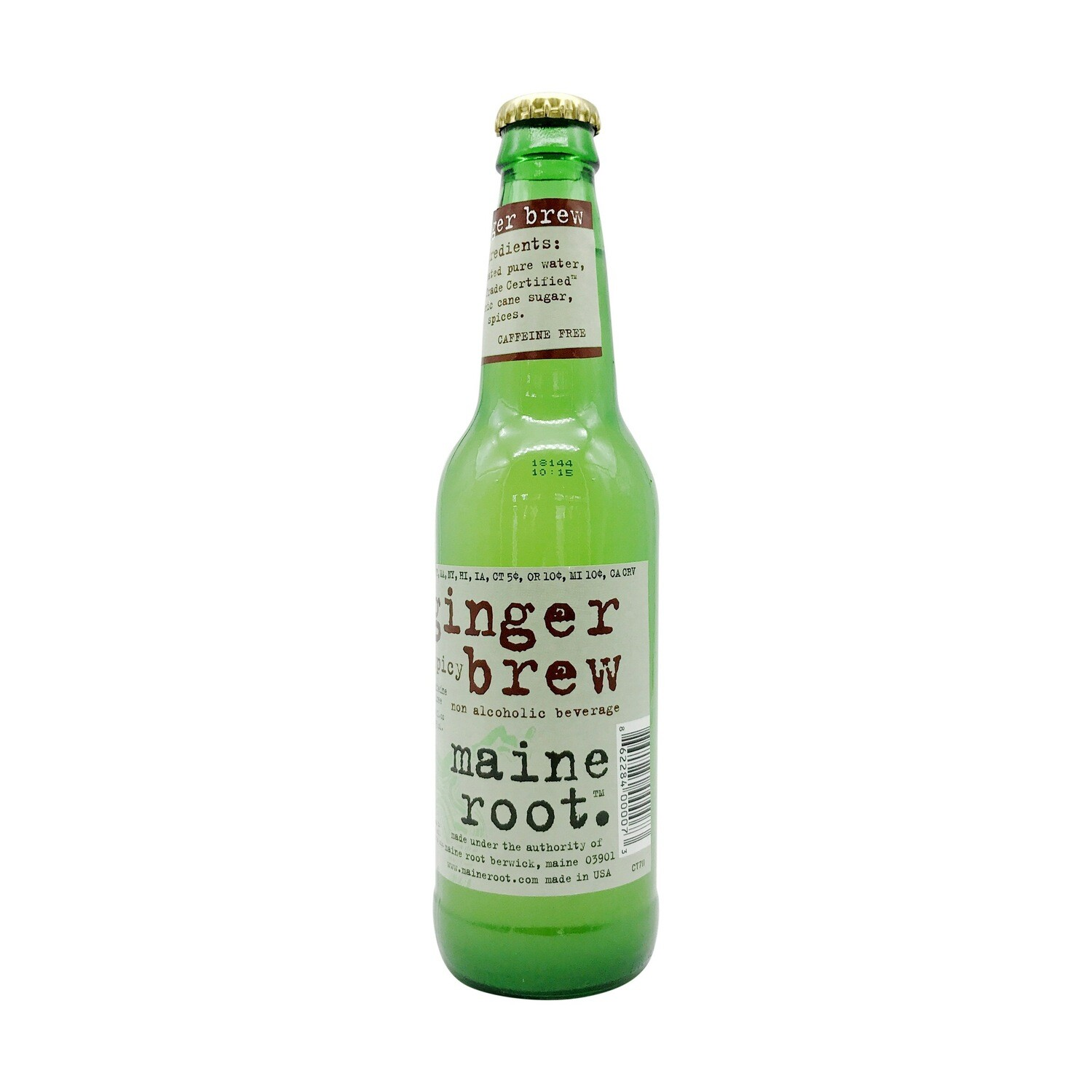 Maine Root Ginger Brew 12oz