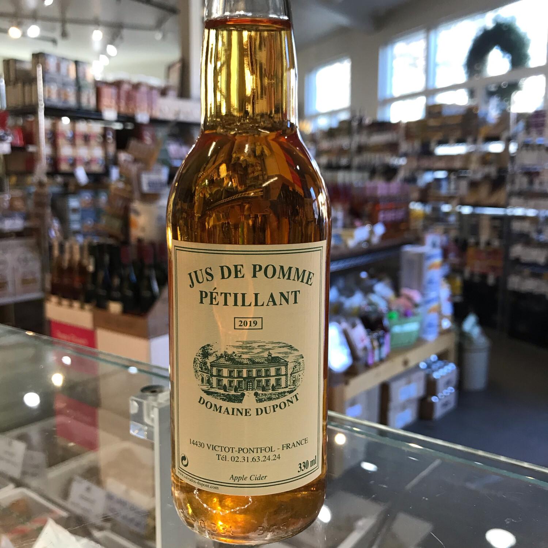 Domaine Dupont Sparkling Apple Cider