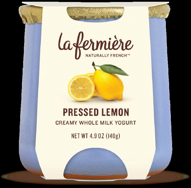 Yogurt, La Fermiere Lemon
