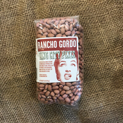 Rancho Gordo King City Pink
