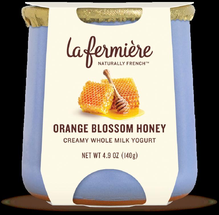 Yogurt, La Fermiere Orange Blossom