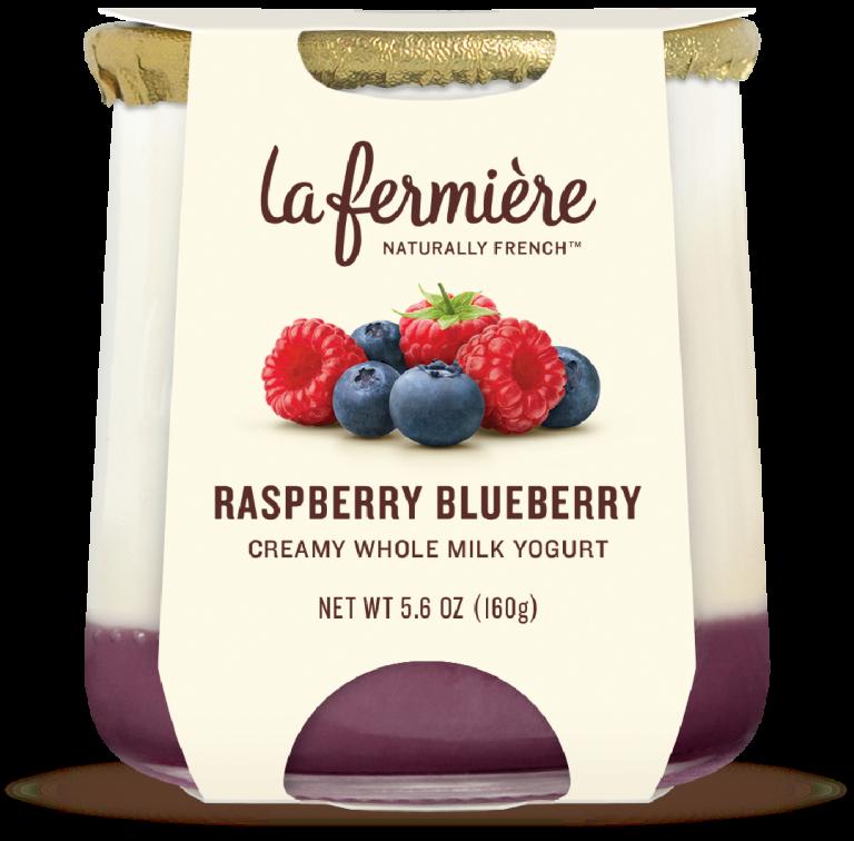 Yogurt, La Fermiere Rasp/Blue