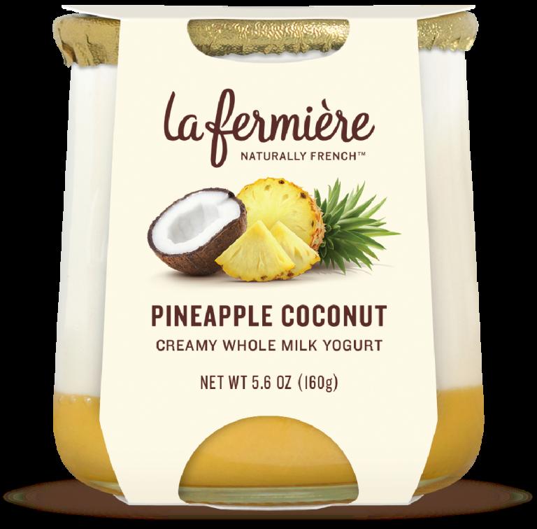 Yogurt, La Fermiere Pineapple Coconut