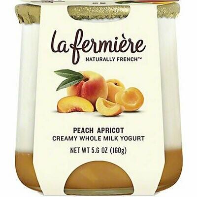 Yogurt, La Fermiere Peach Apricot