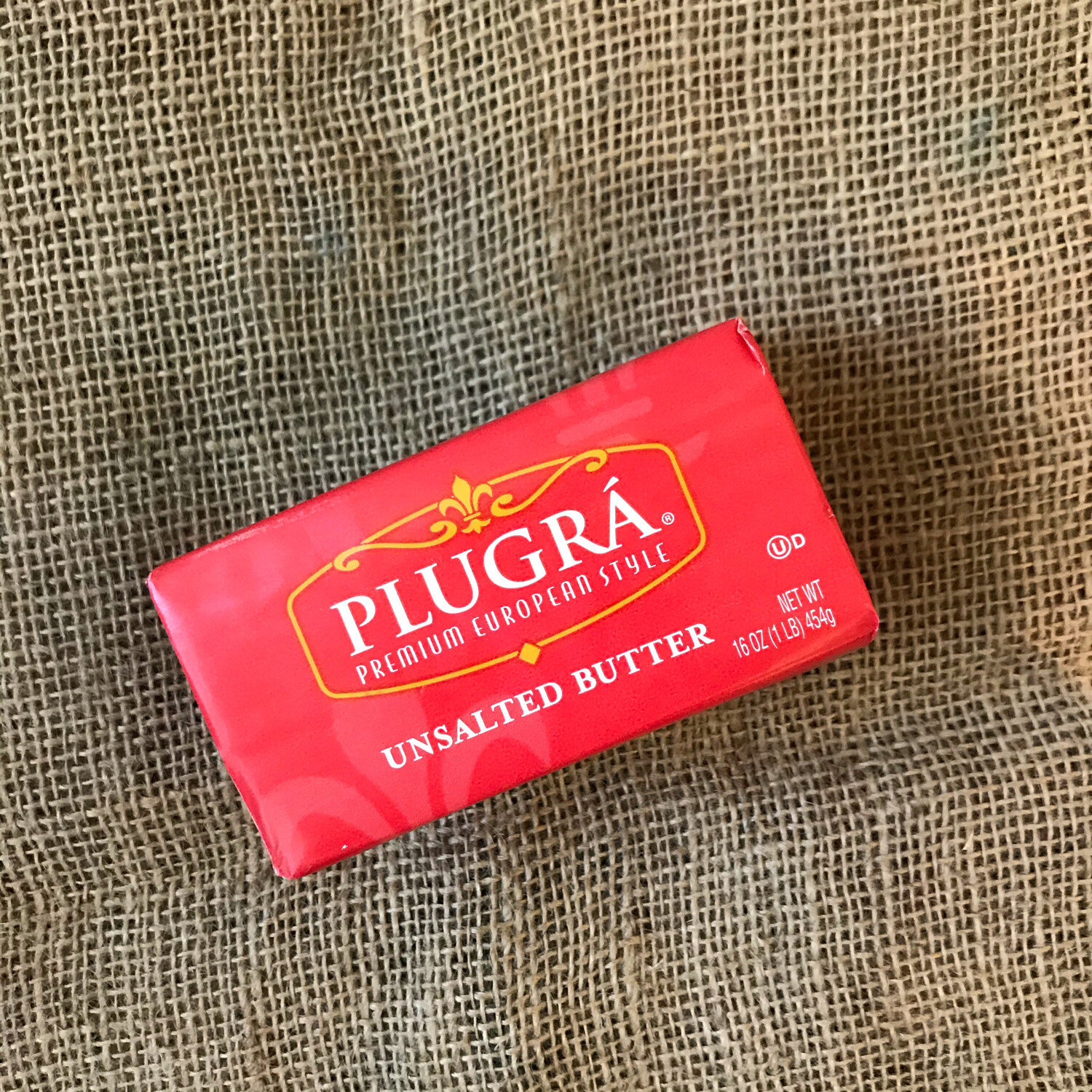 Butter, Plugra Unsalted 1LB