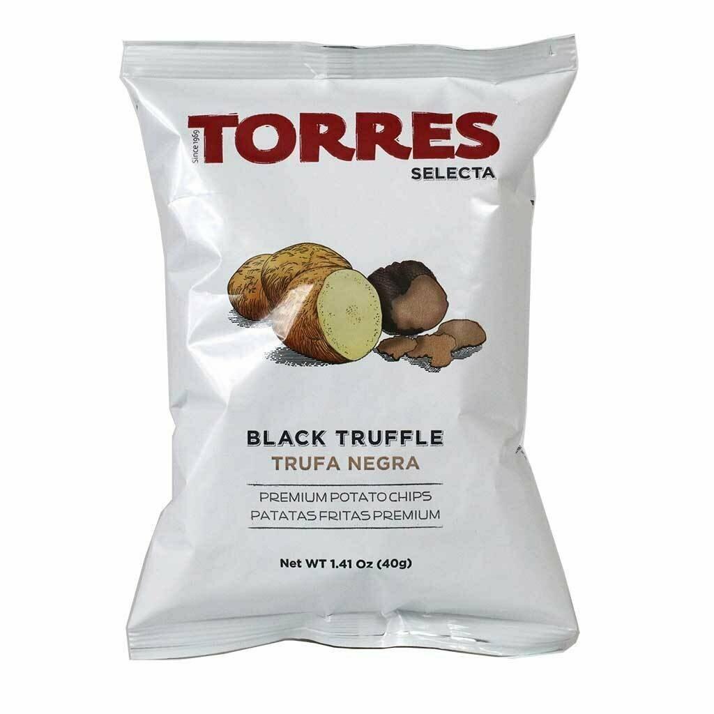 Torres Black Truffle Chips 120g