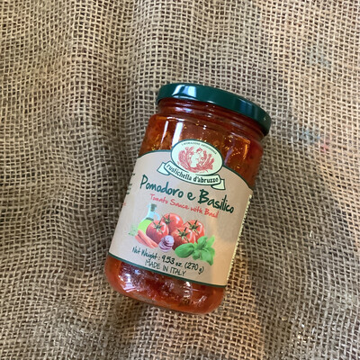 Rustichella Tomato & Basil Sauce270g