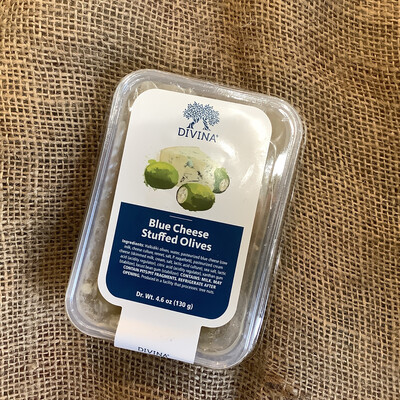 Divina Blue Cheese Olives 220g