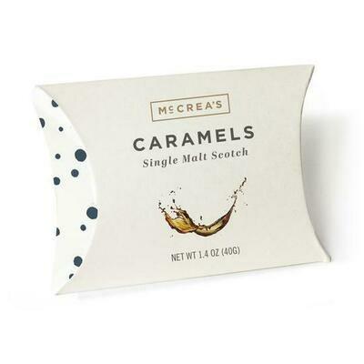 McCreas Caramels Scotch pillow