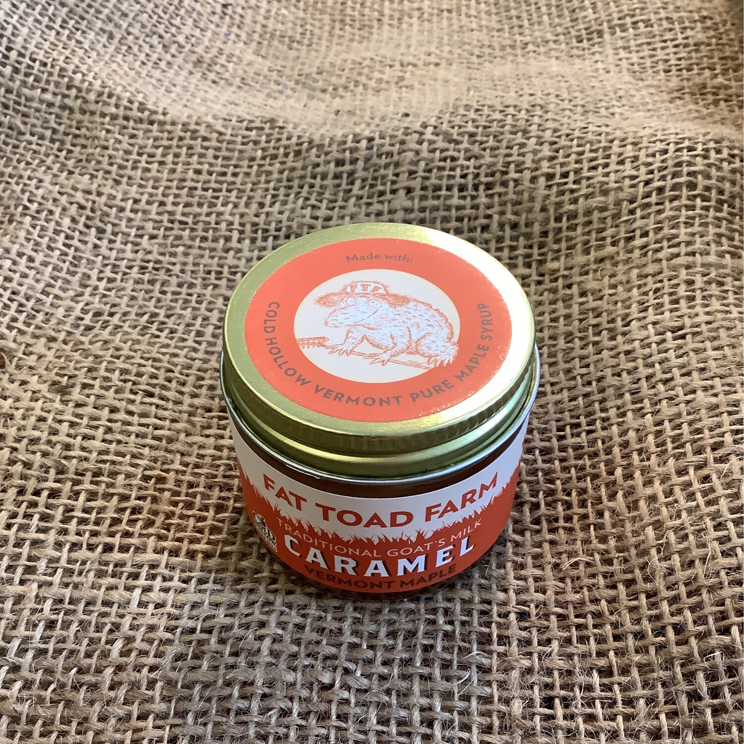Fat Toad Maple Goat Caramel 2oz