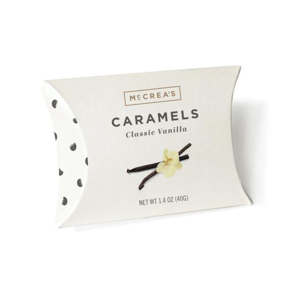 McCreas Caramels Vanilla pillow