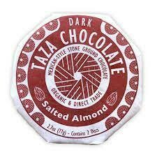 Taza Disc Salted Almond