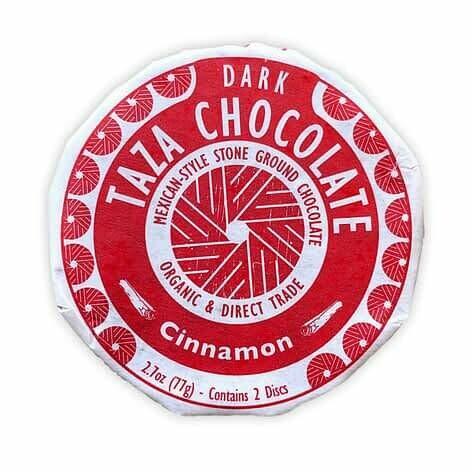 Taza Disc Cinnamon