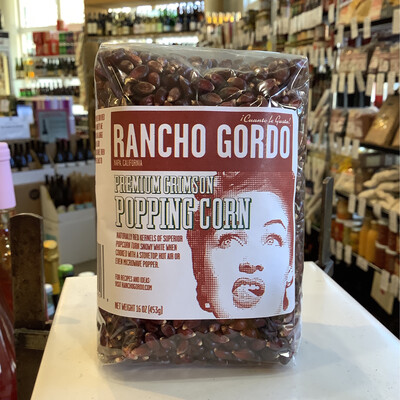 Rancho Gordo Popcorn Crimson 16oz