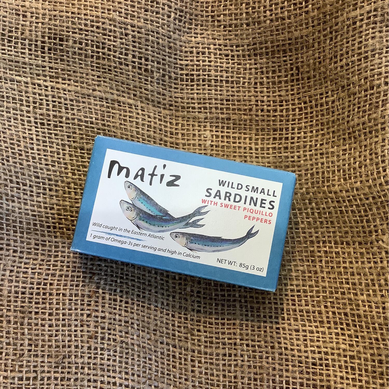 Matiz Sardines with Sweet Piquillo