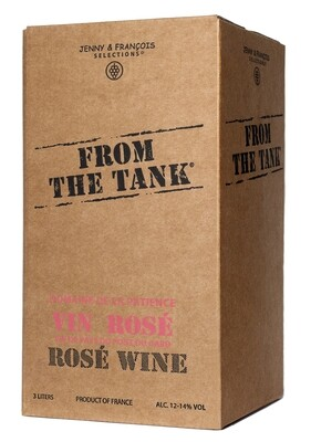 From the Tank Rose 3L box