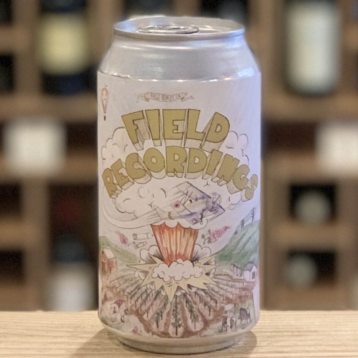Field Recordings Green Day White Wine Can