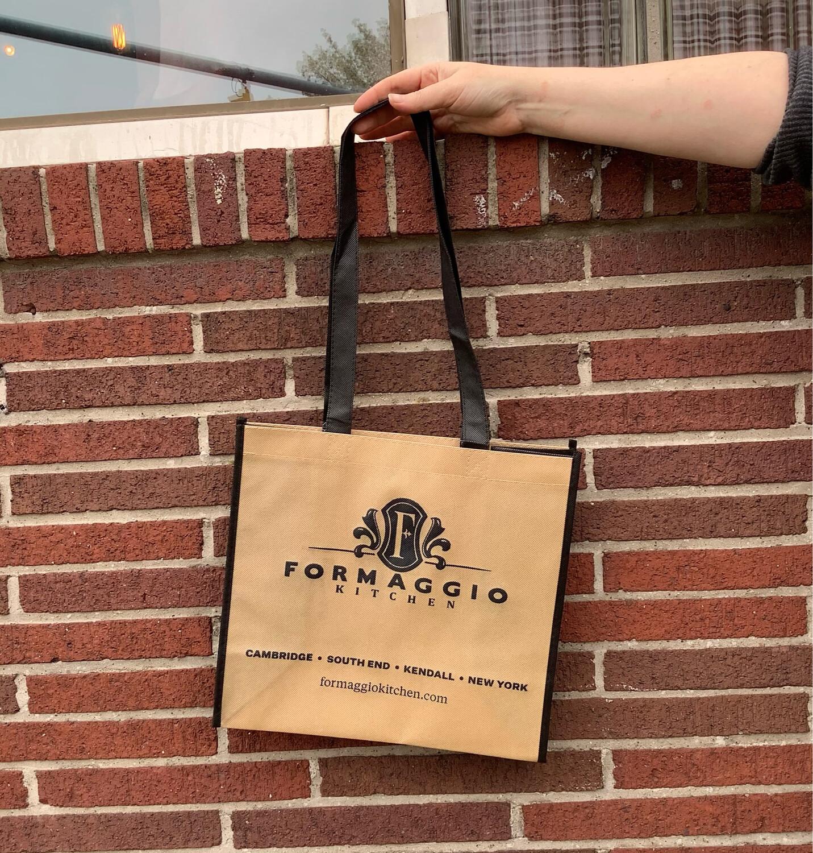 Tote, Cloth Logo