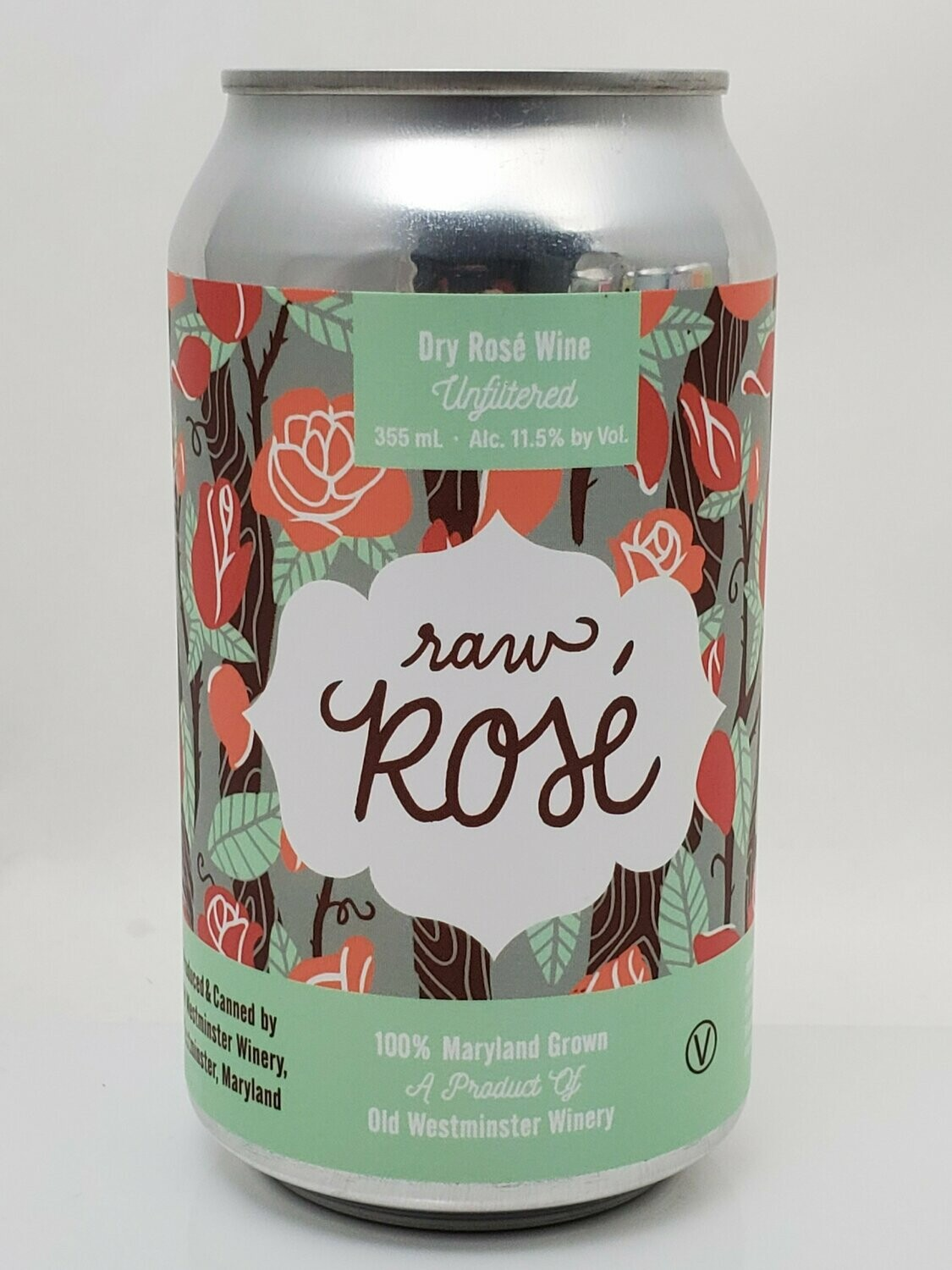 Old Westminster Raw Rose Can