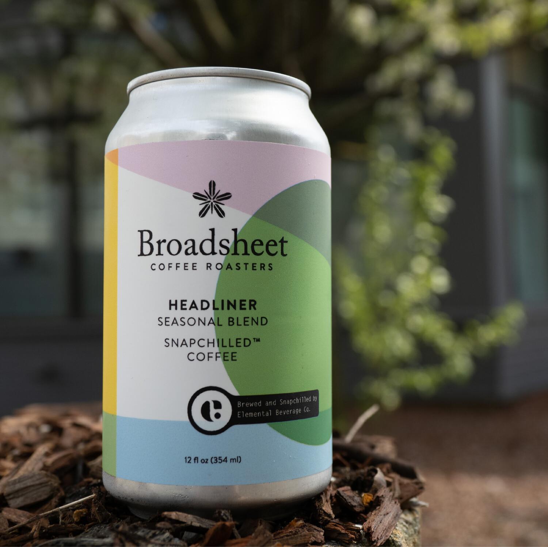 Broadsheet Headliner Snapchilled Coffee