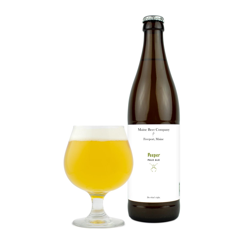 Maine Beer Peeper 16oz