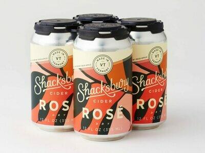Shacksbury Dry Rose 4pk