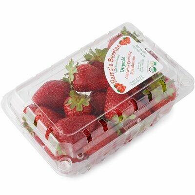 Harry's Berries Organic Strawberries Quart