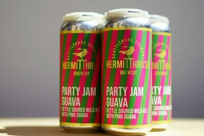 Hermit Thrush Party Jam Guava 4pk