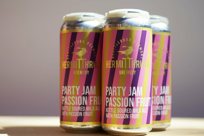 Hermit Thrush PartyJam Passion Fruit 4pk