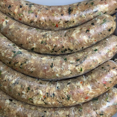 Sausages, Housemade Chicken, Pork, Herb - 1 Pound