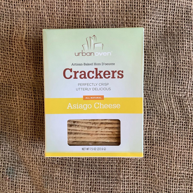 Urban Oven Asiago Crackers