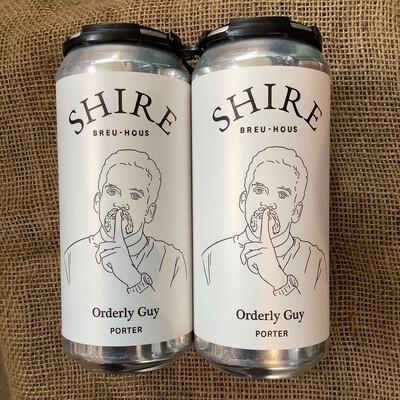 Shire Orderly Guy Porter