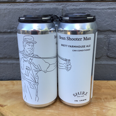 Shire Bean Shooter Man 4pk