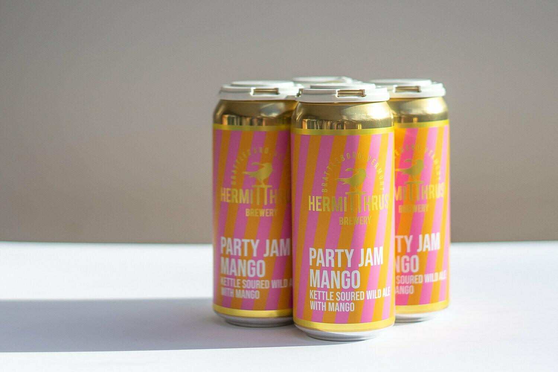 Hermit Thrush Party Jam Mango 4pk