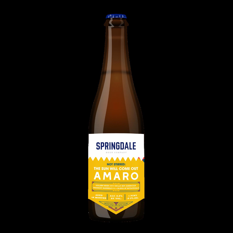 Springdale The Sun Will Come Out Amaro
