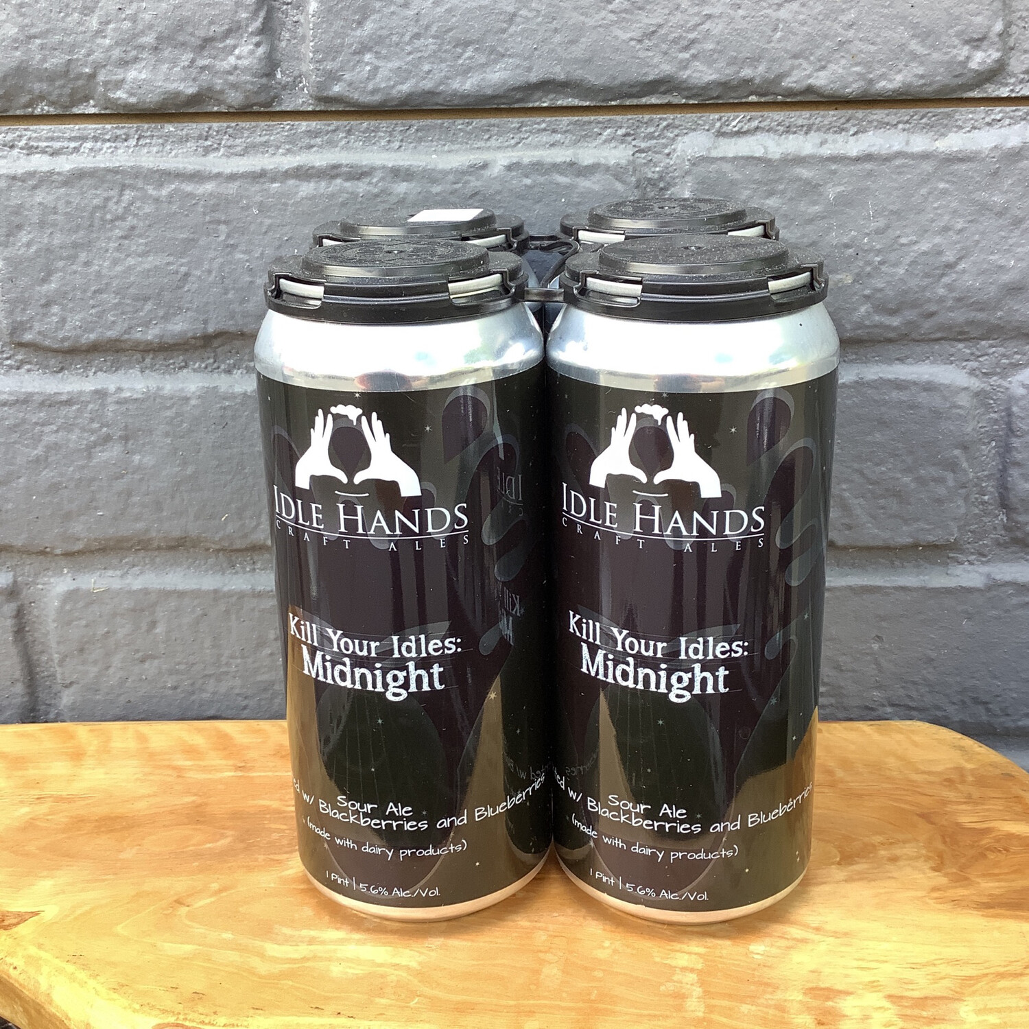 Idle Hands Kill Your Idles Midnight 4pk