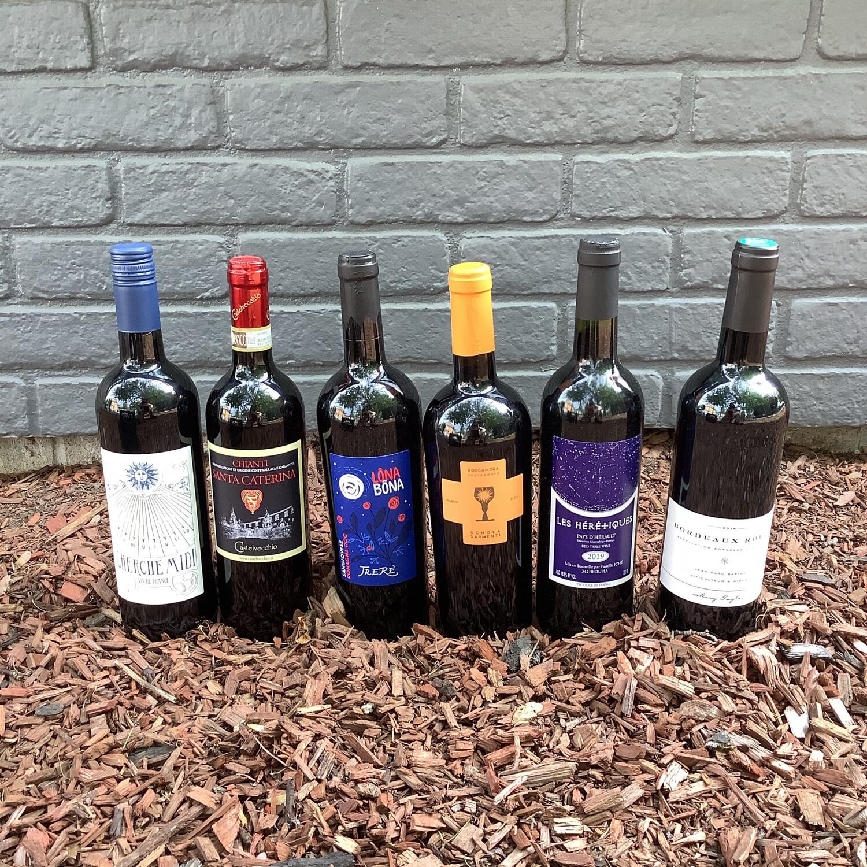 Red Wine $10-15, Staff Pick