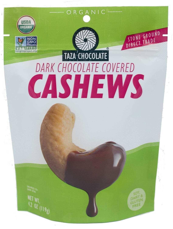 Taza Dark Chocolate Cashews